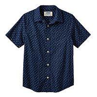 Boys 8-20 Urban Pipeline® Dot Button-Down Shirt
