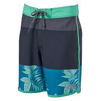 Men's Ocean Current Sonora Colorblock Stretch Board Shorts