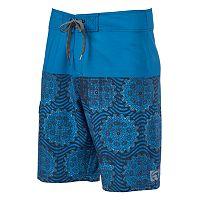 Men's Ocean Current Symbols Board Shorts