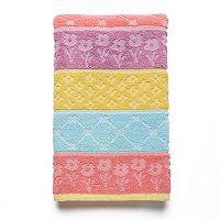 Celebrate Together Floral Stripe Hand Towel