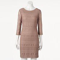 Women's Ronni Nicole Lace Sheath Dress