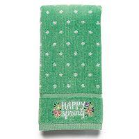 Celebrate Together Happy Spring Fingertip Towel