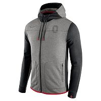 Men's Nike Ohio State Buckeyes AV15 Full-Zip Fleece Hoodie