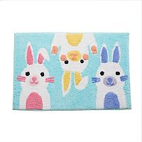 Celebrate Together Peeking Bunnies Rug