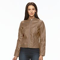 Women's Apt. 9¨ Faux-Leather Jacket
