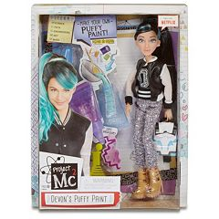 Project Mc2 Devon's Puffy Paint Doll with Experiment by