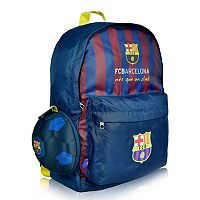 FC Barcelona Soccer Ball Backpack