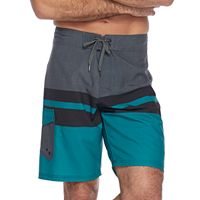 Men's Ocean Current Lowers Plaid Stretch Board Shorts