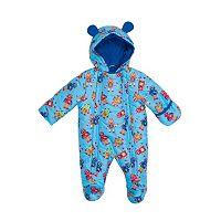 Baby Boy I-Extreme Robot Hooded Fleece Pram
