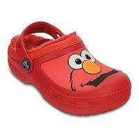 Creative Crocs Elmo Kids' Lined Clogs