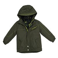 Boys 4-7 Big Chill Hooded Camouflage Heavyweight 3-in-1 Systems Jacket