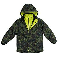 Boys 4-7 Big Chill Hooded Heavyweight Jacket