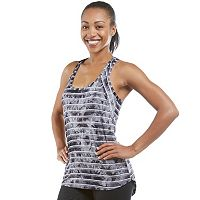 Women's Balance Collection Avery Tie-Dyed Racerback Tank Top