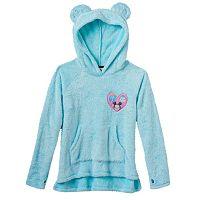 Disney D-Signed Girls 7-16 Tsum Tsum Furry Ears Graphic Hoodie