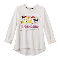 Disney D-Signed Girls 7-16 Tsum Tsum Hashtag Friendship Graphic Top