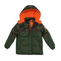 Boys 4-7 I-Extreme Heavyweight Camouflage Top Jacket