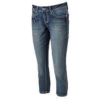 Women's Seven7 Embroidered Capri Jeans