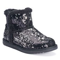 SONOMA Goods for Life™ Girls' Sequin Ankle Boots