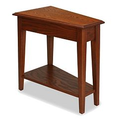 Leick Furniture Recliner Wedge End Table by