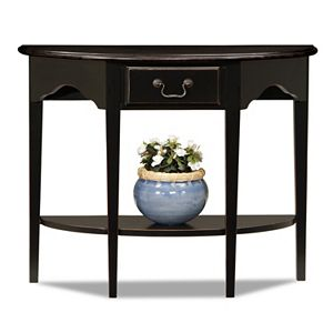 Leick Furniture Demilune Console Table
