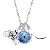 Disney's Cinderella Crystal Charm Necklace