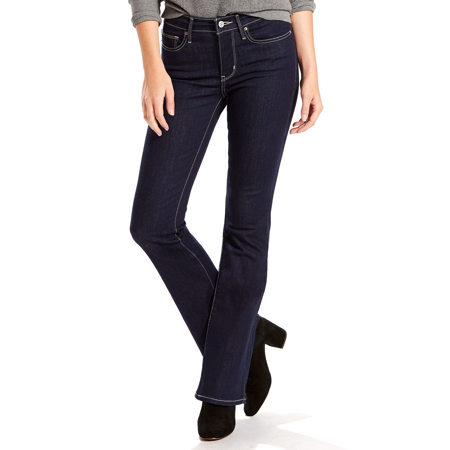 Womens Levis Slimming Bootcut Jeans