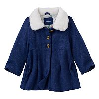 Baby Girl Carter's Wool-Blend Coat