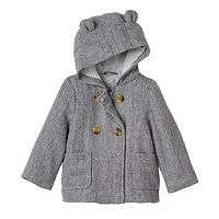 Baby Girl Carter's Double-Breasted Lurex Wool Jacket