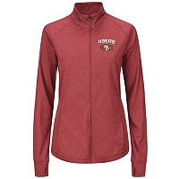 Plus Size Majestic San Francisco 49ers Track Jacket