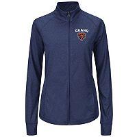 Plus Size Majestic Chicago Bears Track Jacket