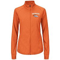 Plus Size Majestic Denver Broncos Track Jacket