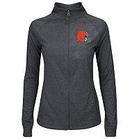 Plus Size Majestic Cleveland Browns Track Jacket