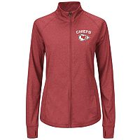 Plus Size Majestic Kansas City Chiefs Track Jacket