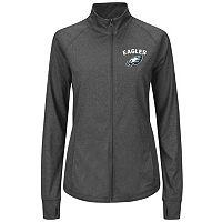 Plus Size Majestic Philadelphia Eagles Track Jacket