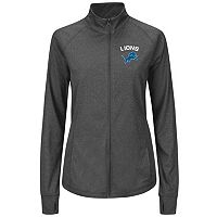 Plus Size Majestic Detroit Lions Track Jacket