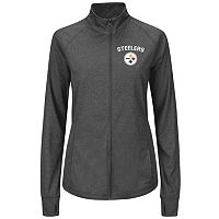 Plus Size Majestic Pittsburgh Steelers Track Jacket