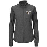 Plus Size Majestic Baltimore Ravens Track Jacket