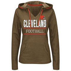 Preschool Cleveland Browns Brown Team Logo Pullover Hoodie