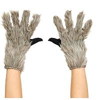 Kids Guardians of the Galaxy Rocket Raccoon Costume Gloves