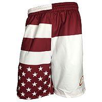 Men's Zipway Cleveland Cavaliers Flag Shorts