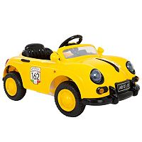 Lil' Rider Yellow 58 Speedy Sportster Classic Car Ride-On with Remote