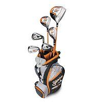 Boys 5-8 Callaway XJ Hot Flex Left Hand Golf Club & Stand Bag Set