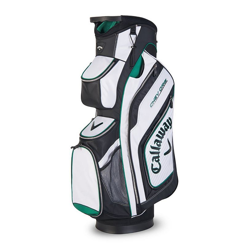 Callaway Chev Org Cart Bag, White