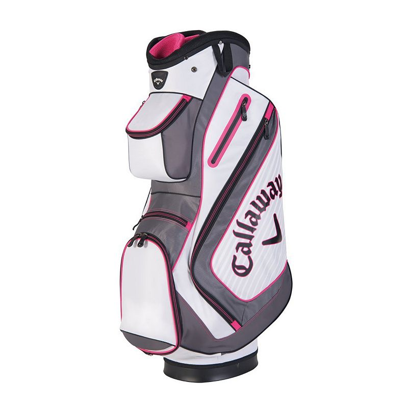 Callaway Chev Cart Bag, Grey (Charcoal)