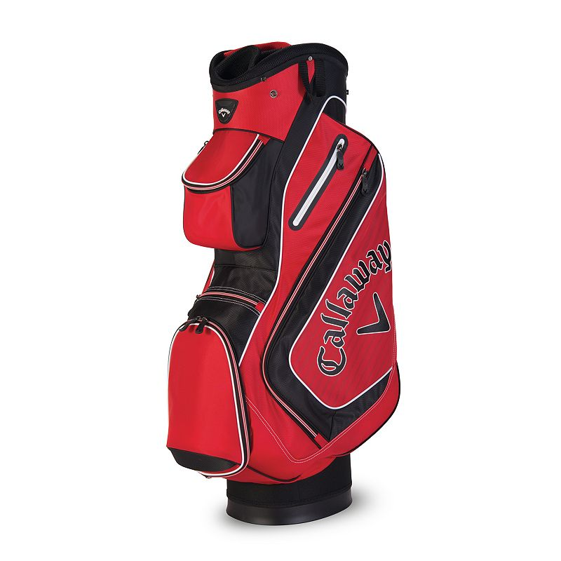 Callaway Chev Cart Bag, Red