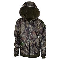 Men's True Timber High Pile Fleece Full-Zip Hoodie