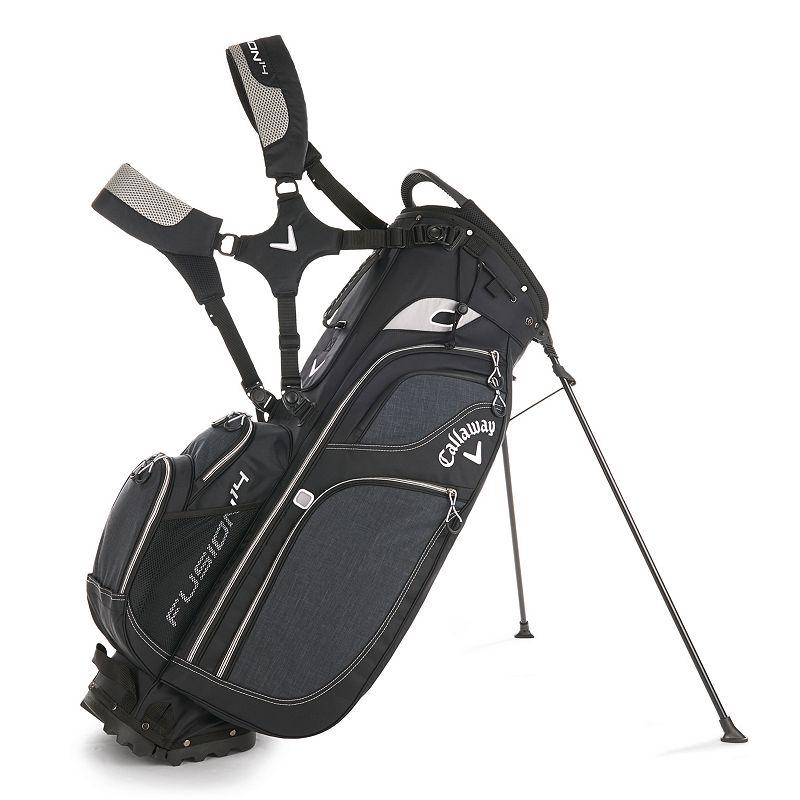 Callaway Fusion 14 Golf Stand Bag, Grey