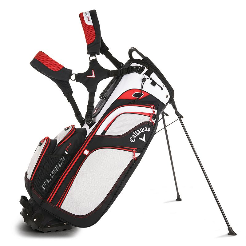 Callaway Fusion 14 Golf Stand Bag, White