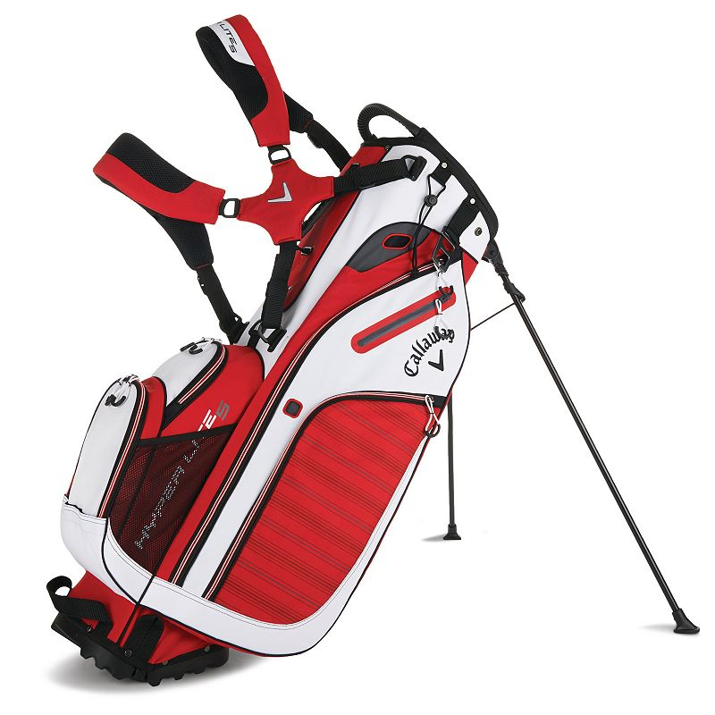 Callaway Hyperlite 5 Stand Bag, Red