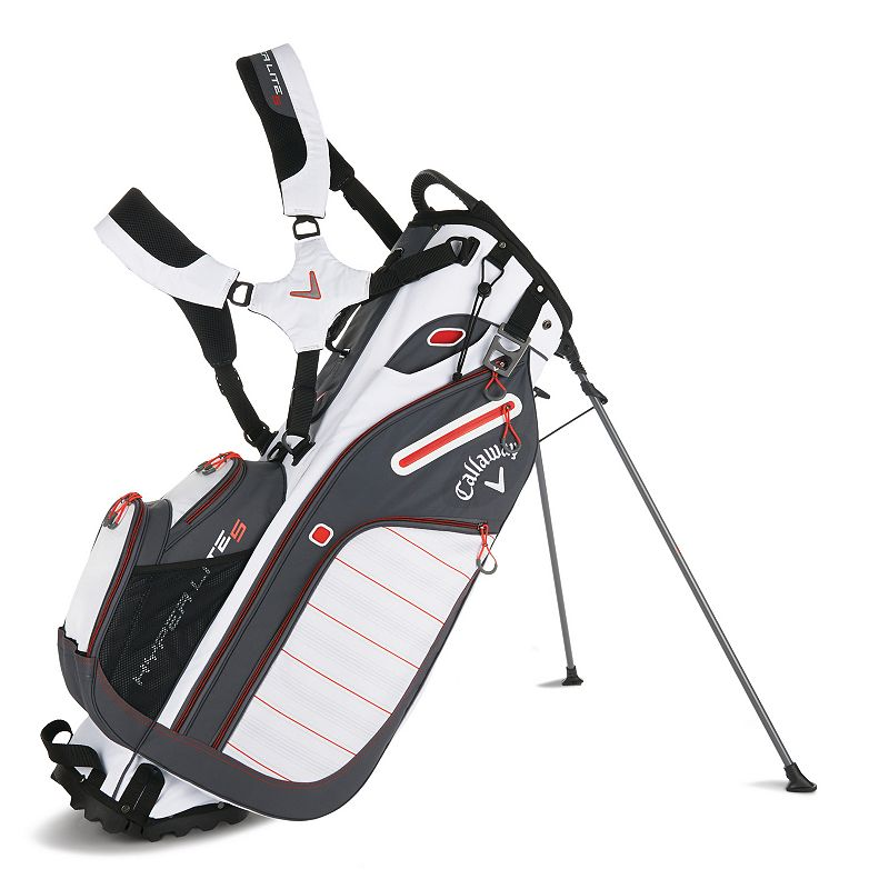 Callaway Hyperlite 5 Stand Bag, White